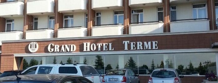 Grand Terme Hotel is one of Fuat'ın Beğendiği Mekanlar.