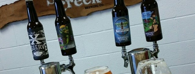 Saucony Creek Brewing Company + Gastropub is one of Breweries Visited.