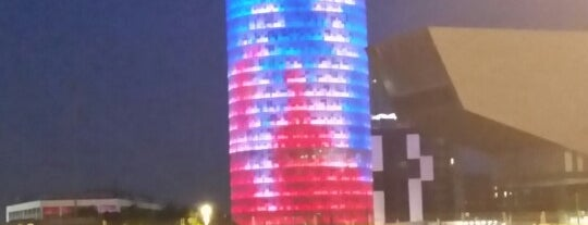 Torre Glòries is one of Barcelona.