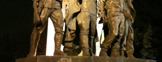 Памятник странам-участницам антигитлеровской коалиции is one of Orte, die Мария gefallen.