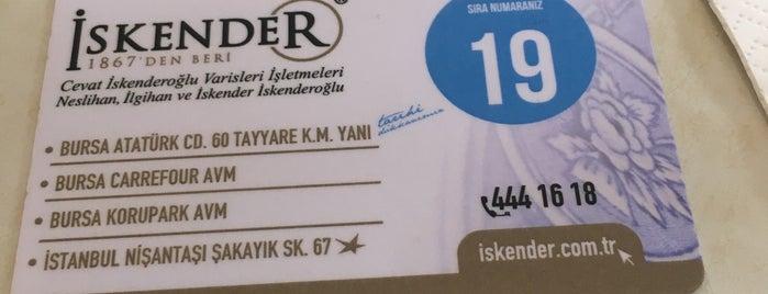 Kebapçı İskender | İskender İskenderoğlu ve Evlatları is one of BURSA.