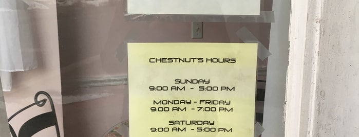 Chestnut Fine Foods is one of Be Outside.