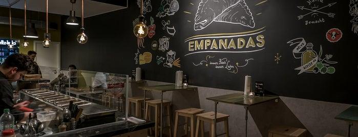 Empanadas is one of Dresden.
