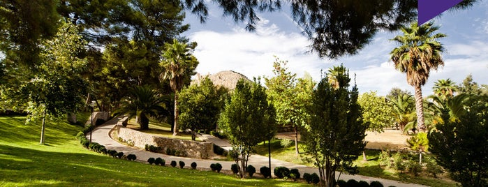 Parque del seminario is one of Lugares Míticos de Jaén.