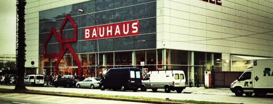 Bauhaus is one of Barcelona.