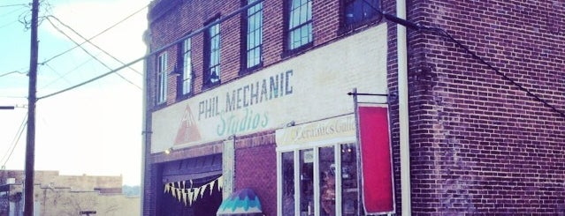 Phil Mechanic Building is one of Asheville.