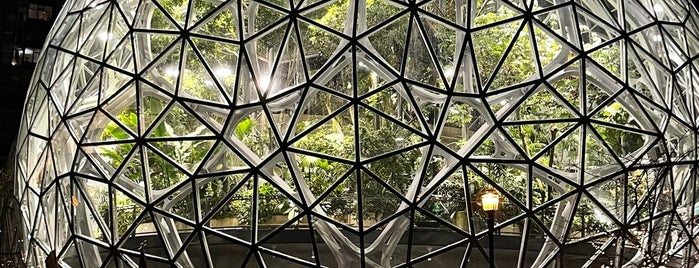 Amazon - The Spheres is one of Seattle, WA.