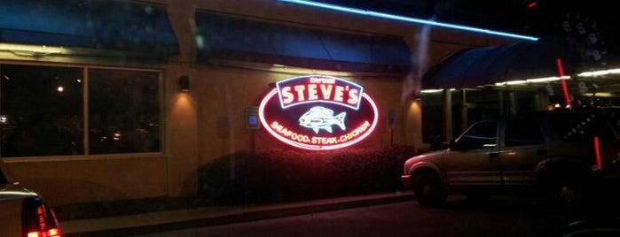Captain Steve's Family Seafood Restaurant is one of Lieux qui ont plu à Ben.