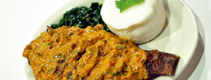 Swahili Village Restaurant and Bar is one of DC Suburbs.