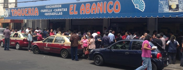 Taquería El Abanico is one of mexico city.