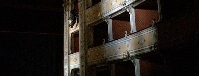 Teatro Poliziano is one of Posti che sono piaciuti a Ufficio Turistico.