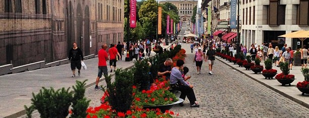 Karl Johans gate is one of Oslo City Guide.