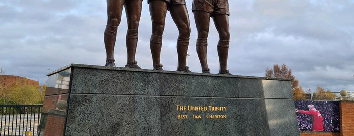 The United Trinity Statue is one of Tempat yang Disimpan Tristan.