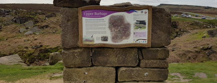 Upper Burbage is one of Where I have been.