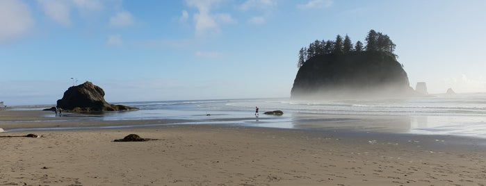 Second Beach is one of Camping/Hiking in Western Washington.