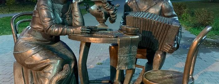 Памятник Тульское чаепитие is one of Путешествия по россии.