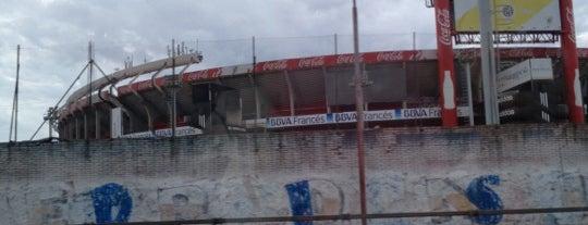 """Estadio Antonio Vespucio Liberti """"Monumental"""" (Club Atlético River Plate) is one of Capital Federal (AR)."""
