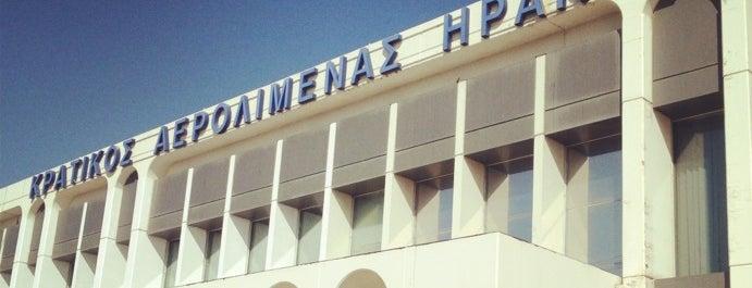 Heraklion International Airport Nikos Kazantzakis (HER) is one of Airports Europe.