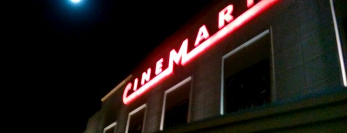 Cinemark is one of I've Been Here.