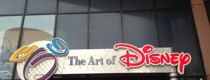 The Art of Disney is one of DISNEY.