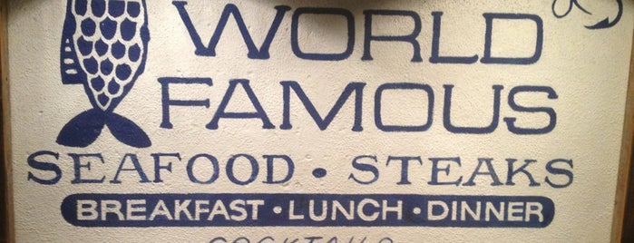 World Famous is one of San Diego Must Eats.