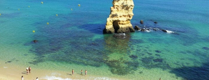 Praia Dona Ana is one of Algarve.