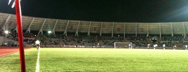 Estadio Olímpico Universitario is one of Lugares guardados de JRA.