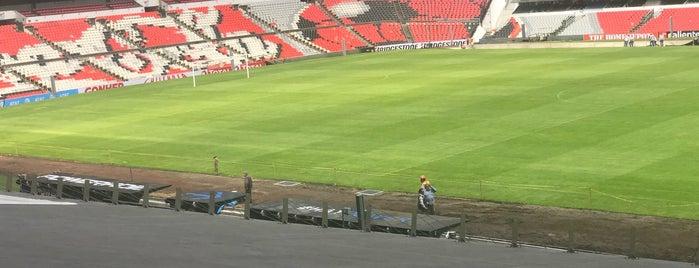 Zona Palcos Estadio Azteca is one of Mickey 님이 좋아한 장소.