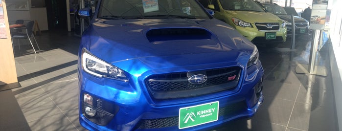 Kinney Subaru is one of Subaru of New England Dealers.