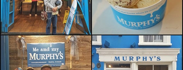 Murphys Ice Cream is one of Ireland.