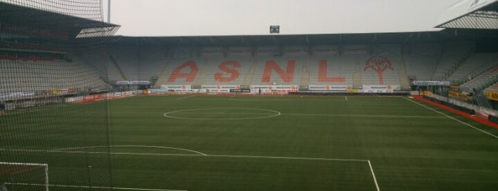 Stade Marcel Picot is one of Stadi e Sport Centers.