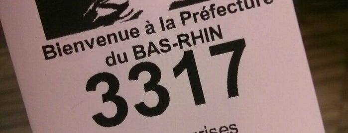 Préfecture du Bas-Rhin is one of Strasbourg.