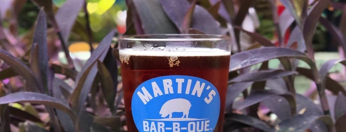 Martin's Bar-B-Que Joint is one of NashVegas.