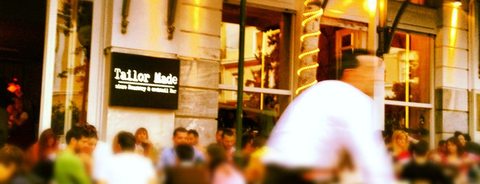 Tailor Made is one of best bars in Athens.