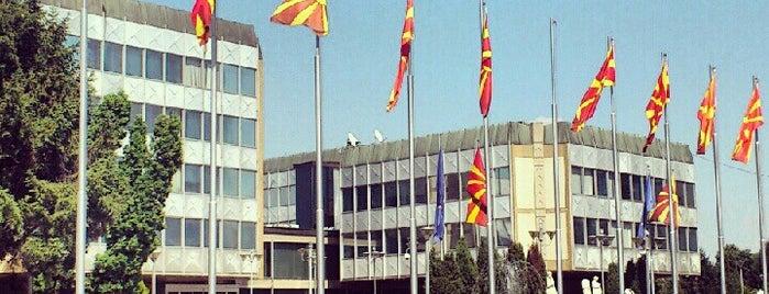 Влада на Република Македонија / Government of the Republic of Macedonia is one of Ahmet : понравившиеся места.