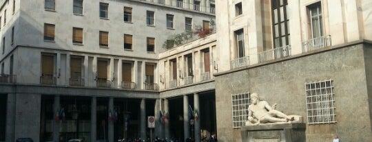 Piazza C.L.N. is one of Tempat yang Disukai Matteo.