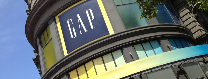 GAP is one of San Francisco Baby.