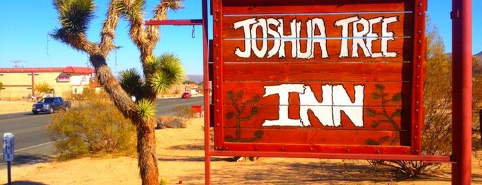 Joshua Tree Inn is one of CA.