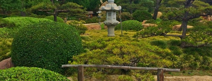 The Japanese Garden at Tillman Water Reclamation is one of La to sf.