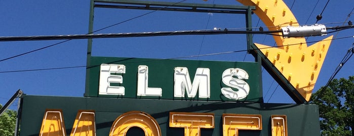 Elms Motel is one of Neon/Signs N. California 2.