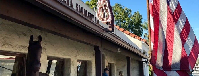 Jedlicka's Saddlery is one of Central CALIFORNIA vintage signs.