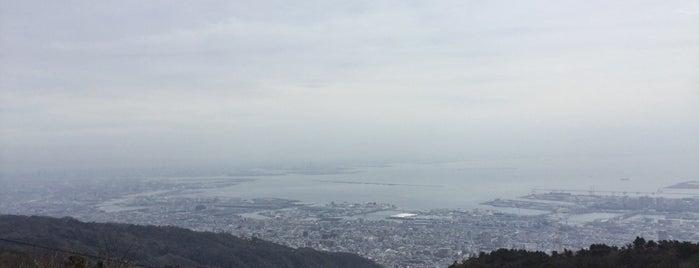 Mountain Rokko is one of Kobe-Japan.