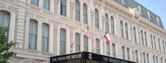 The Tremont House is one of Houston.