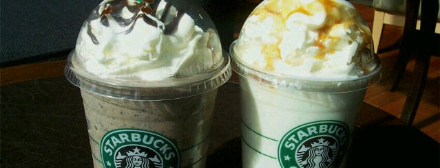 Starbucks is one of Starbucks / B&N.