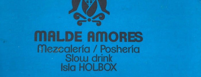Malde Amores is one of Holbox Recs.