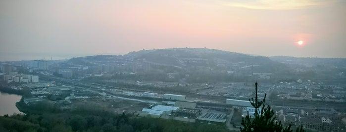 Kilvey Hill is one of Swansea.
