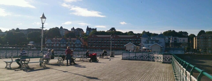 Penarth Pier is one of Local's Guide to Cardiff.