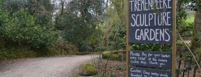 Tremenheere Sculpture Gardens is one of James Turrell.