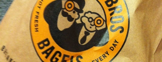 Einstein Bros Bagels is one of Stephenさんのお気に入りスポット.