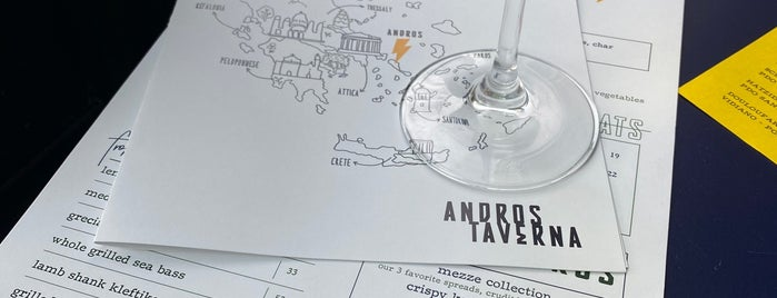 Andros Taverna is one of Orte, die Donna gefallen.